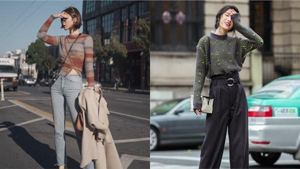 Áo len mà diện cùng 4 kiểu quần này thì hoàn hảo, ai cũng phải khen sao bạn mặc đẹp thế
