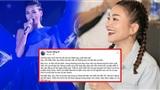 Thanh Hằng bất ngờ chia sẻ lại clip hát 5 năm trước, status đầy ẩn ý về đàn em lấn sân ca hát