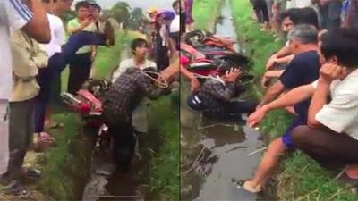 Trộm chó ở Thanh Hóa bị người dân truy đuổi, hô hào 'đánh mạnh lên'