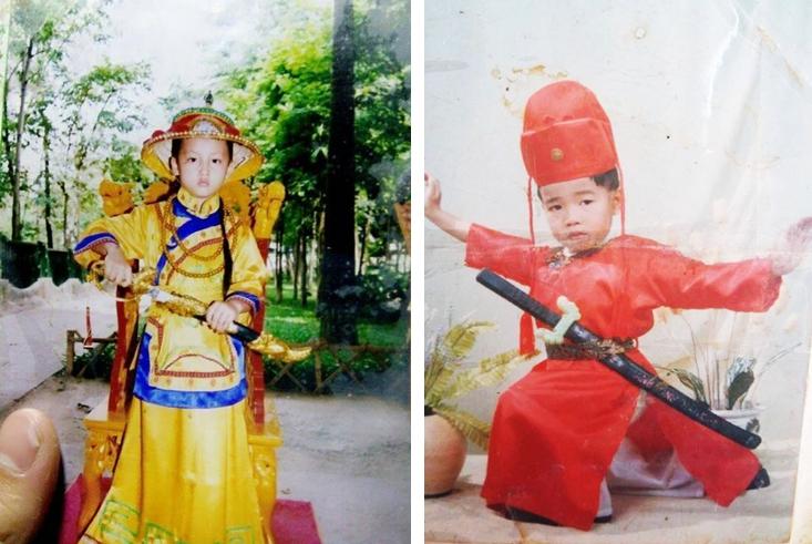 Cư dân mạng hào hứng với trào lưu khoe ảnh 'cosplay' hồi nhỏ