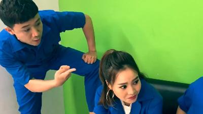 Trấn Thành, Lan Ngọc tung version Người lạ ơi chế: 'Cho tôi mượn bờ vai, hai tháng sau có thai'