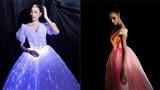 Phạm Hương và Hoàng Thùy 'đụng ý tưởng' diện váy phát sáng lên thảm đỏ