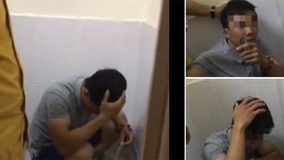 Phát hiện kẻ 'biến thái' chuyên nhìn trộm trong nhà vệ sinh nữ