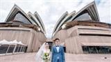 Bộ ảnh cưới ở 6 quốc gia cùng hành trình 'liều và điên' của cặp đôi Hà Nội