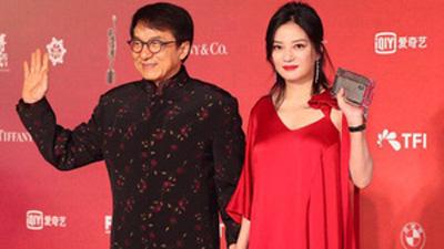 Thảm đỏ Kim Tượng 2018: Triệu Vy 'đỏ rực' bên đàn anh Thành Long, Lưu Đức Hoa tái ngộ Cổ Thiên Lạc