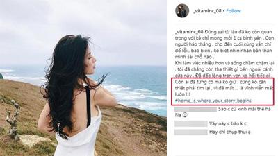 Nghi vấn cựu hot girl Ngọc Anh 8X đã chia tay chồng, làm mẹ đơn thân ở tuổi 30?