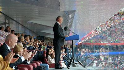 Nga hào phóng tặng quà cho tất cả các cổ động viên đến Nga xem World Cup