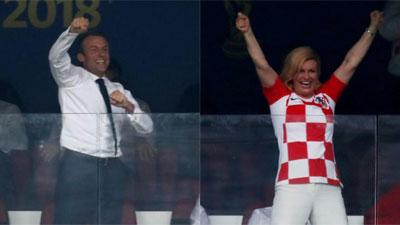 Những khoảnh khắc hài hước không thể nào quên của các vị nguyên thủ quốc gia trong trận Chung kết World Cup 2018