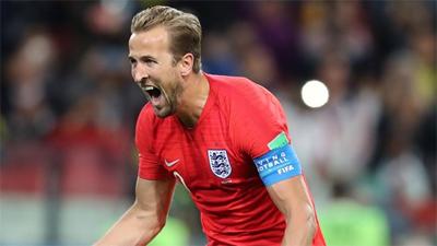 Harry Kane giành danh hiệu Vua phá lưới tại World Cup 2018