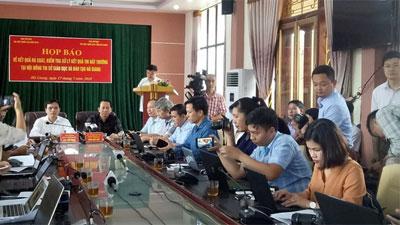 Vụ gian lận điểm thi tại Hà Giang: 4 thùng bài thi được mang ra ngoài khi nào?
