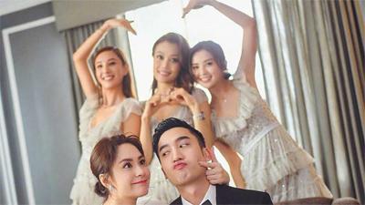 Chung Hân Đồng làm đám cưới tại Hong Kong, Trần Quán Hy và scandal ảnh nóng 10 năm trước bị gọi tên