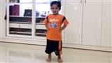 Phát 'sốt' với điệu nhảy dancesport siêu dẻo của quý tử 3 tuổi nhà Khánh Thi - Phan Hiển