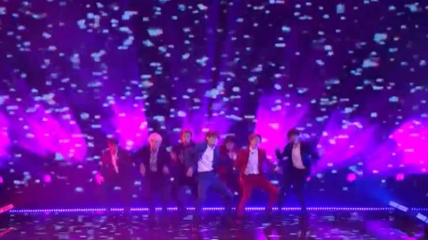 BTS biểu diễn tại bán kết America's Got Talent 2018