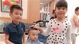 Tết Trung thu, bà bầu Hằng Túi dắt cả đàn con đi dạo phố, Meo Meo đi du lịch Thái Lan cùng con trai cưng