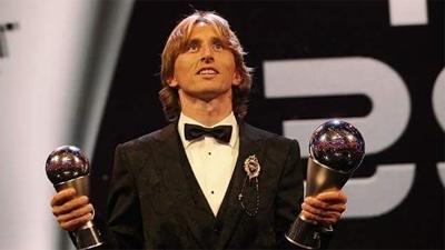 'Hạ' Ronaldo, Messi, Luka Modric giật giải cầu thủ xuất sắc nhất thế giới
