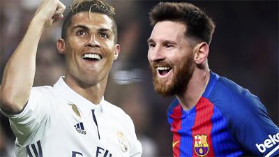 Ronaldo bất ngờ buông lời 'hạ thấp' Messi trong cuộc đua giành Quả bóng vàng