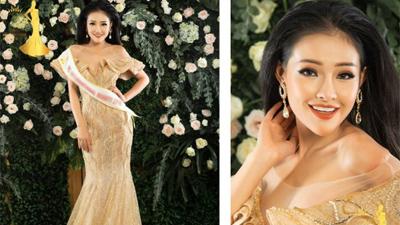 Thân hình hốc hác, 'hotgirl ngực khủng' Ngân 98 gây sốc khi lọt vào chung kết hoa hậu tại Thái Lan