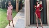 Ngay ngày đầu nhập cuộc Miss World, Tiểu Vy đã gây thương nhớ với đầm 'khoét sâu, xẻ cao'