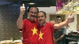 Xúc động trước hình ảnh bầu Đức, bầu Thắng ăn mừng Việt Nam vô địch