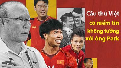 HLV tuyển Jordan: Cầu thủ Việt Nam có niềm tin không tưởng vào HLV Park Hang-seo