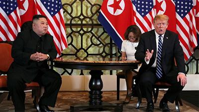 Chủ tịch Kim ví gặp mặt Mỹ - Triều như một bộ phim 'tưởng tượng'