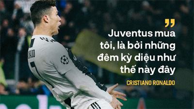 Với Juventus, Ronaldo đâu chỉ thêm lần nữa làm cả thế giới phải kinh ngạc