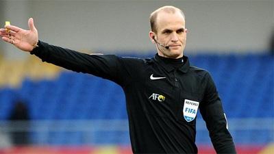 Trọng tài gây tranh cãi bắt trận U23 Việt Nam - U23 Brunei