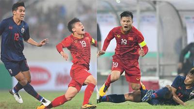 Bị cầu thủ Thái Lan 'đánh' tơi tả, Quang Hải vẫn thể hiện bản lĩnh với pha solo đẳng cấp