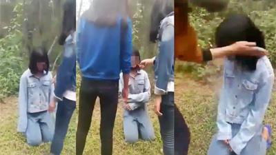 Nghệ An: Nhóm nữ sinh dẫn bạn vào rừng bắt quỳ, đánh hội đồng gây phẫn nộ