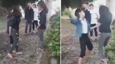 Xôn xao clip 2 nữ sinh lớp 10 bị đánh hội đồng dã man vì… tội 'nói nhiều'