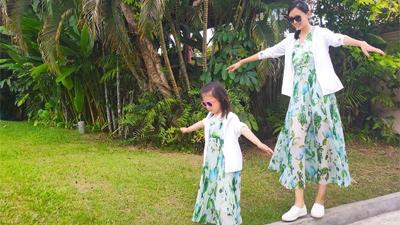 Mới 3 tuổi, con gái Hoa hậu Thế giới Trương Tử Lâm đã được dự đoán sẽ 'nối nghiệp' mẹ nhờ chiều cao nổi trội