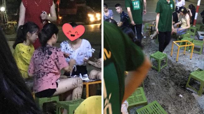 Cạnh tranh không lành mạnh, một quán trà chanh tại Thái Nguyên bị ném chất thải trộn dầu luyn khiến khách vạ lây gây phẫn nộ MXH