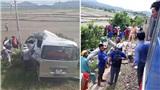 Cố băng qua đường tàu, ô tô 16 chỗ bị húc văng khiến 3 người chết, bé gái 8 tuổi bị thương nặng