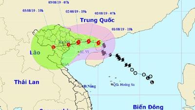 Bão số 3 đổ bộ vào đất liền miền Bắc chiều tối nay, Hà Nội nguy cơ ngập nặng