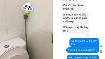 Bi hài chuyện chàng trai bị người yêu chia tay chỉ vì đi vệ sinh mà lại dùng... vòi xịt!?