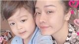 Lâu lâu mới được ở gần con, Nhật Kim Anh khiến người hâm mộ xót xa