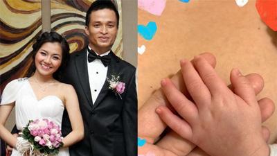Sau 8 năm kết hôn, Thanh Ngọc nhóm 'Mắt Ngọc' vui mừng thông báo sinh con đầu lòng