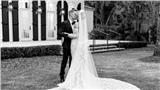 Mãn nhãn trước bộ váy cưới đẹp lộng lẫy cùng nhẫn kim cương siêu khủng của vợ Justin Bieber - Hailey Baldwin