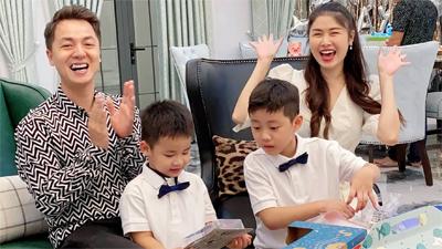 Đăng Khôi, Thuỷ Anh tự tay tổ chức sinh nhật cho bé Đăng Anh tại biệt thự mới