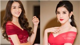 Á hậu Tường San, Huyền My bất ngờ 'đụng váy' khi cùng dự sự kiện