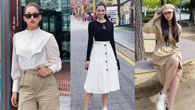 Đáng chú ý không kém chuyện Tiểu Vy hẹn hò là style của cô: Ngày một sang chảnh, là nguồn cảm hứng tuyệt vời cho dân công sở