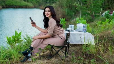 Hoa hậu Tiểu Vy 2 ngày liên tiếp chụp ảnh trên cao nguyên M'drak