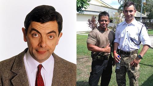 Thông tin hiếm về con trai Mr Bean: Là quân nhân, sở hữu ngoại hình giống bố y đúc