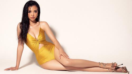 Á hậu Thúy An diện bikini nóng bỏng xuất hiện trên trang chủ Miss Intercontinental