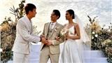 Sao Việt nhanh tay share ảnh đám cưới Đông Nhi - Ông Cao Thắng trước khi bị 'cấm' chụp ảnh, livestream