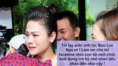 Nhật Kim Anh công khai van xin chồng cũ cho được gặp con khiến fan đau lòng