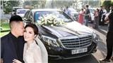 Dàn xe trị giá không dưới 40 tỷ đồng tham gia hôn lễ ca sĩ Bảo Thy và ông xã doanh nhân