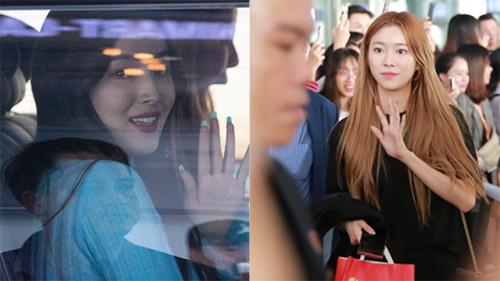 Loạt sao Hàn đổ bộ sân bay Nội Bài trưa nay: MOMOLAND, Chungha, Ahn Hyo Seop