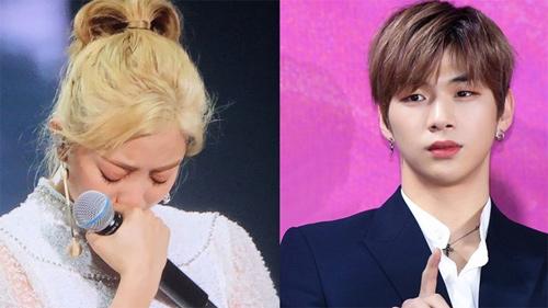 Vừa có tin đồn chia tay Kang Daniel, Jihyo (TWICE) bật khóc nức nở ngay trong concert khiến fan xót xa
