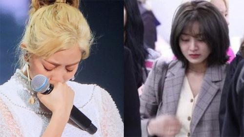 Hệ quả của Jihyo (TWICE) khi cặp kè với Kang Daniel: Bị antifan ném đá, phải òa khóc vì quá áp lực